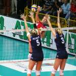 World League - Italia-Russia -muro Anzanello Togut